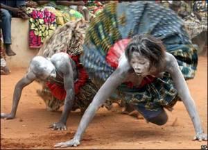 Voodoo dancers - Benin